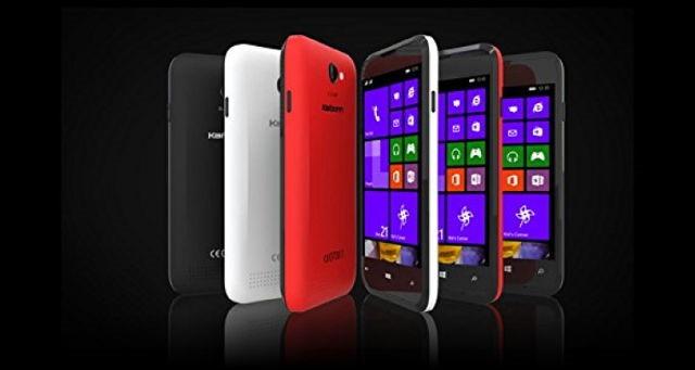 Karbonn Titanium Wind W4, un nou Windows Phone ieftin