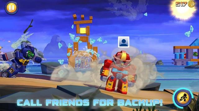 Angry Birds Transformers este acum disponibil și pe Android