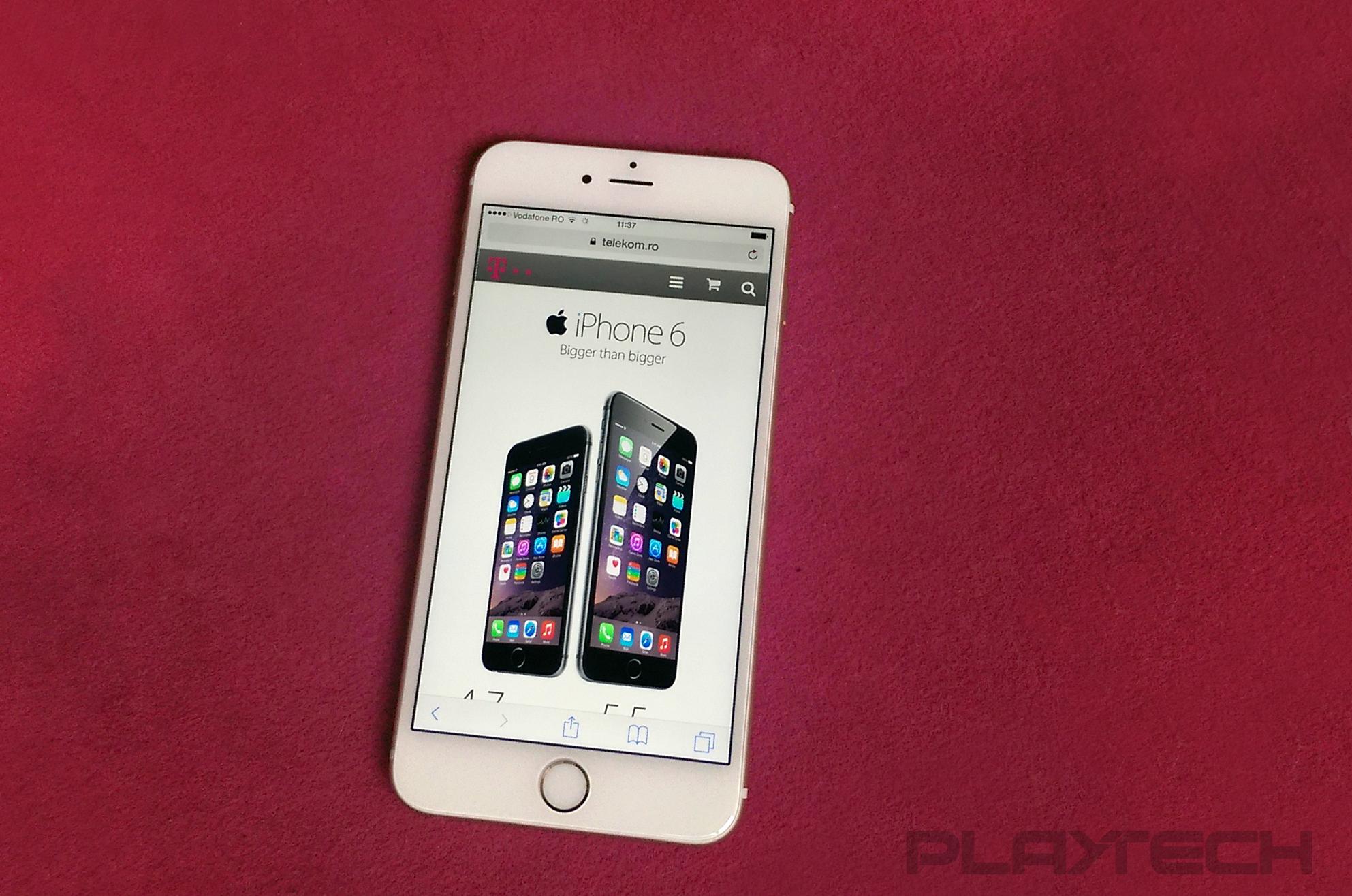 Mirosul dulce al Californiei – despre lansarea iPhone 6 la Telekom Romania