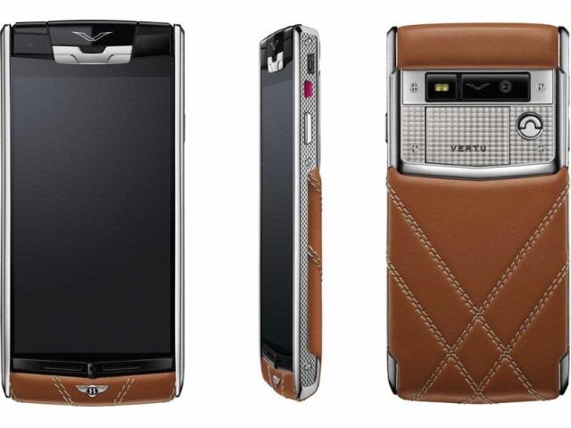 Vertu lansează cu Bentley un nou smartphone inaccesibil şi atrăgător