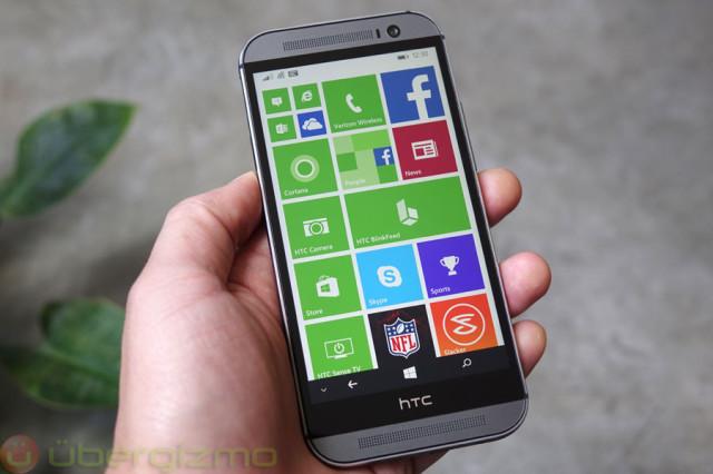 HTC One M8 – acum și în varianta Windows Phone, pentru americani