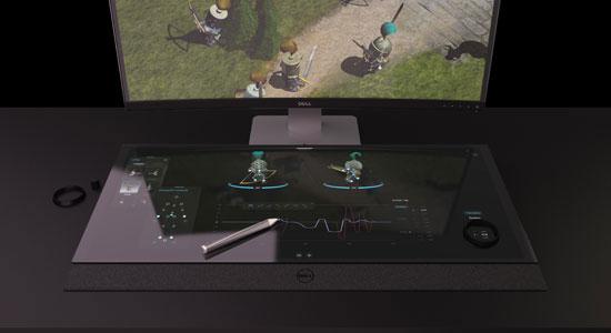 Dell prezintă biroul viitorului: monitor 5K și ecran tactil în locul tastaturii [VIDEO]