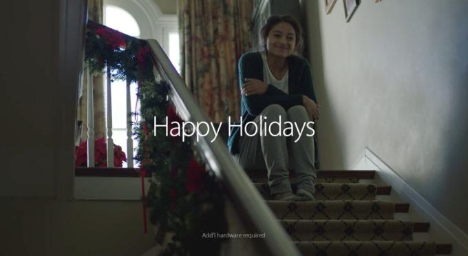 Noua reclamă Apple de Crăciun apelează din nou la coarda sensibilă [VIDEO]