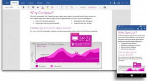 Noul Microsoft Office optimizat pentru touch apare într-un preview oficial [VIDEO]