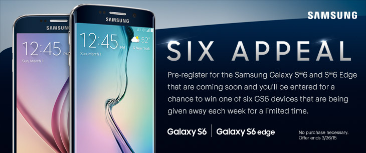 six appeal samsung galaxy s6 si edge