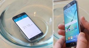 Galaxy S6 edge e rezistent la apă, deşi Samsung nu a spus nimic despre asta [VIDEO]