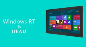 Windows RT va mai primi o actualizare înainte de lansarea Windows 10