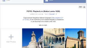 Cum descarci un album foto de pe Facebook