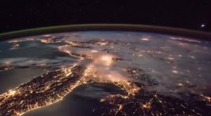 Videoclipul spectaculos realizat de pe Stația Spațială Internațională [VIDEO]