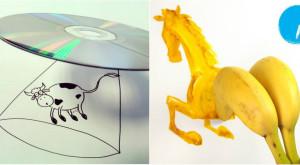 Cum obiectele tale banale pot deveni artă [FOTO]