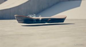 """Hoverboard-ul din """"Înapoi în viitor"""" este real. A fost creat de Lexus [VIDEO]"""