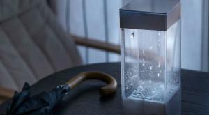 Cutia în care plouă îți arată cum va fi vremea în ziua următoare [VIDEO]