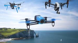 O dronă a reuşit să salveze altă dronă [VIDEO]