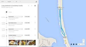 Ca să te sperie un pic, Google Maps îţi arată pe unde ai fost