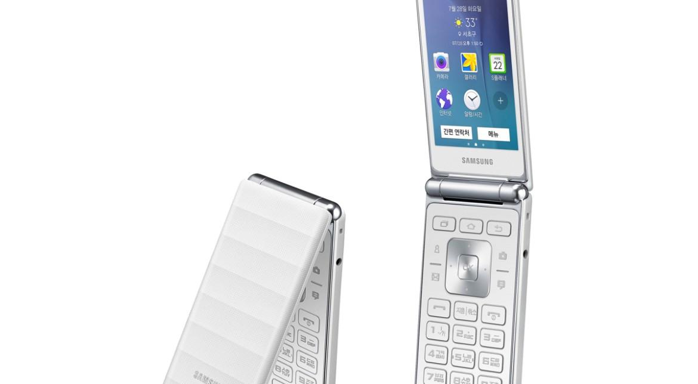 Samsung anunță Galaxy Folder, un telefon cu clapetă