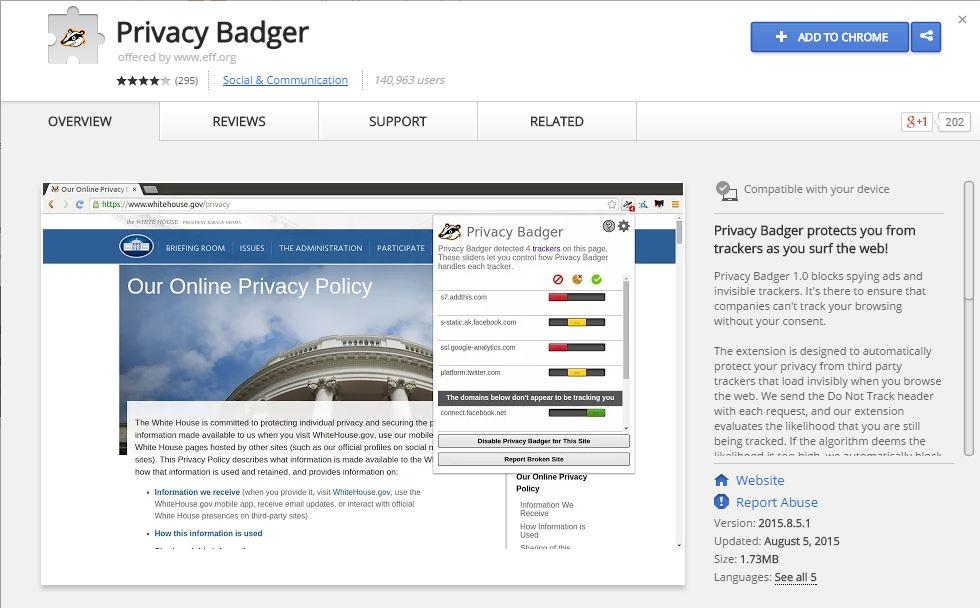 Privacy Badger e aplicația care îți apără intimitatea și computerul