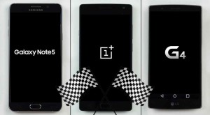 Care-i mai sprinten? Galaxy Note 5 vs OnePlus 2 vs LG G4 [VIDEO]