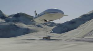 Aeroscraft construiește unul dintre cele mai mari dirijabile din lume