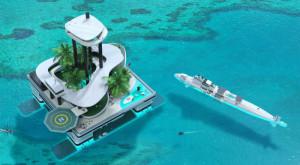 Această ambarcațiune este cea mai luxoasă insulă privată concepută vreodată