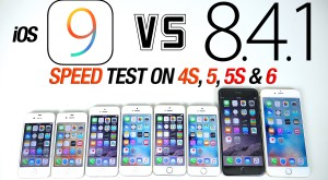Test comparativ de viteză – iOS 8.4.1 vs iOS 9