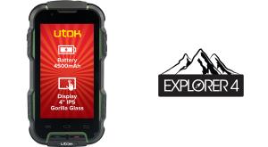 Utok Explorer 4, un telefon rezistent cu baterie la fel de rezistentă
