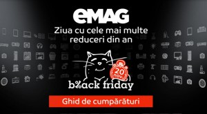 Black Friday 2015 la eMAG: ghidul pentru vânătorii de reduceri