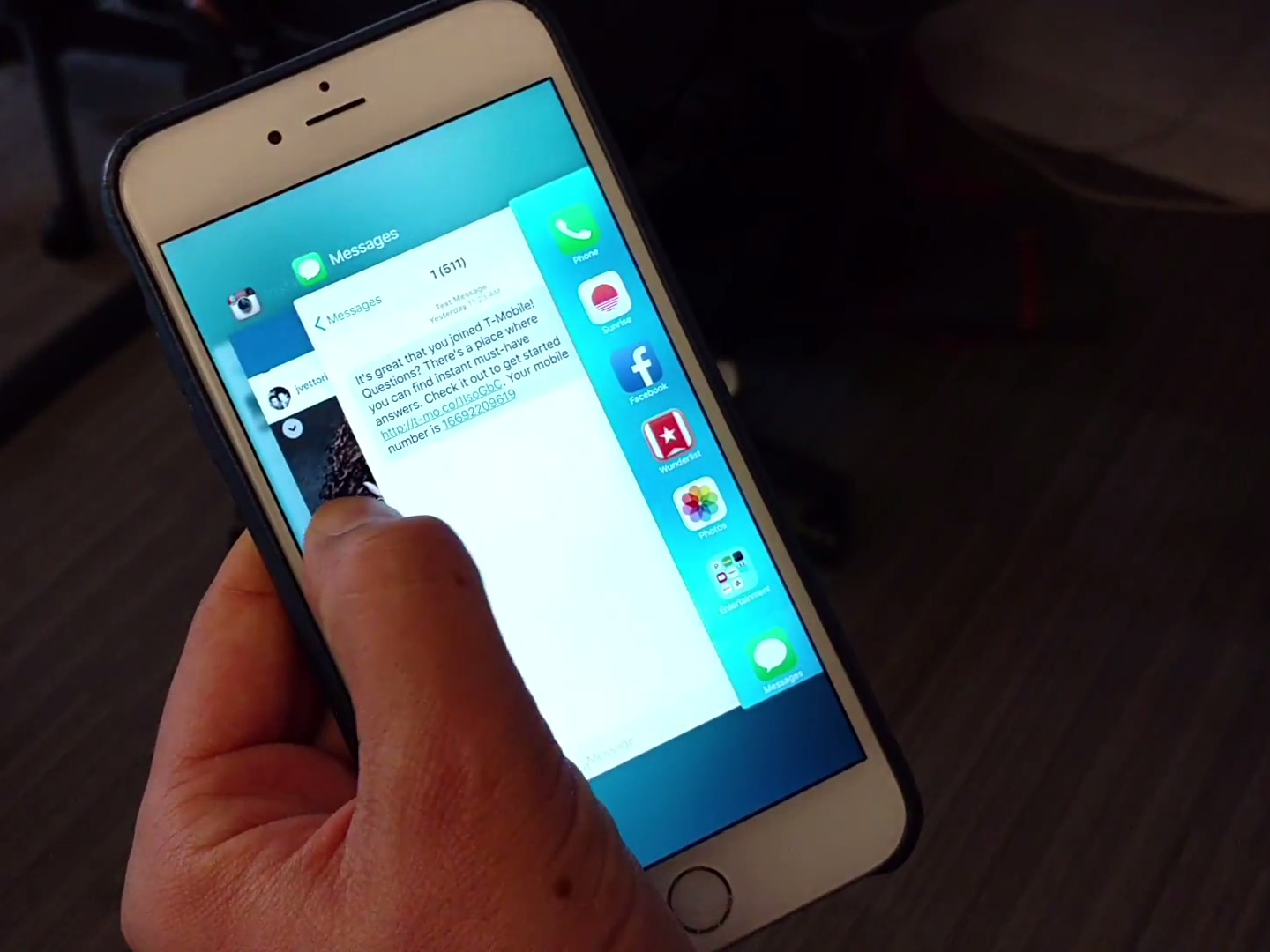 iphone 6s 3d touch multitasking