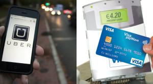 Prima cursă din decembrie cu Uber este gratuită pentru deținătorii de carduri Visa