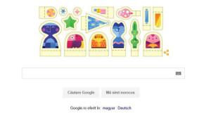 """""""Sărbători fericite!"""": noul doodle de la Google marchează venirea Crăciunului"""