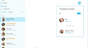 Skype Translator nu mai necesită o aplicație separată pe Windows
