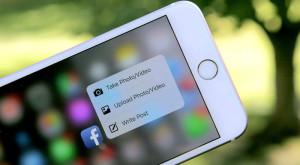 Vei putea folosi 3D Touch pe Facebook pentru a previzualiza poze și linkuri