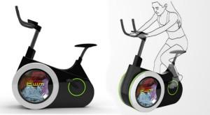 Bicicleta care îți spală hainele și îți lucrează corpul în același timp