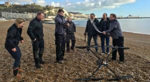 Aceasta este prima dronă care a traversat Canalul Mânecii