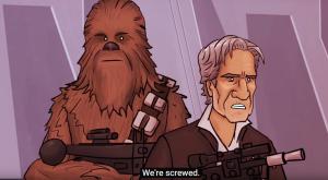 Acest video îți prezintă o altă variantă de final pentru Star Wars