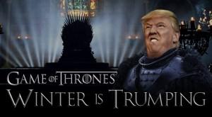 Acest video îți arată cât de bine s-ar încadra Donald Trump în Game of Thrones