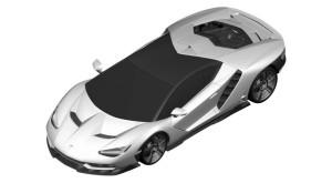 Acestea sunt primele imagini cu viitorul bolid Lamborghini Centenario