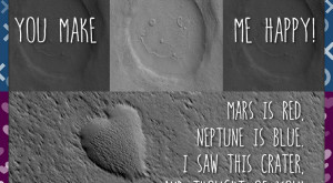 Arată că dragostea ta e de pe altă lume cu aceste felicitări de Valentine's Day de la NASA