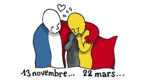 Cum și-au exprimat artiștii din întreaga lume solidaritatea pentru Bruxelles