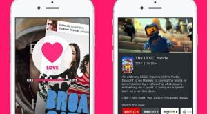 Această aplicație în genul Tinder îți permite să descoperi filme și seriale pe gustul tău