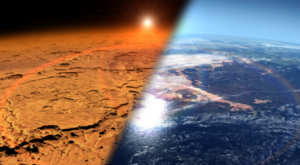 NASA a găsit oxigen în atmosfera planetei Marte