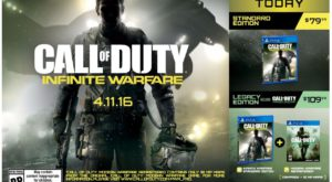 Call of Duty Infinite Warfare ar putea fi cel mai disprețuit joc, conform YouTube