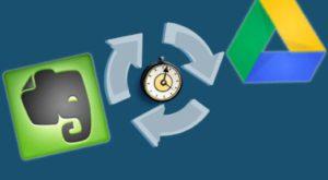 Evernote lucrează de minune cu Google Drive