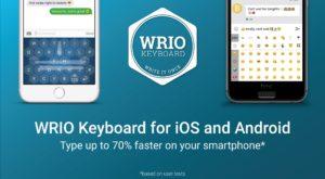 Wrio Keyboard te ajută să scrii mai rapid pe smartphone