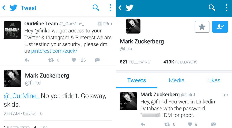 Mark Zuckerberg a căzut victimă hackerilor pe Twitter ...