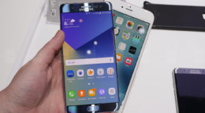 iPhone 6s VS Samsung Galaxy Note 7: care este mai rapid