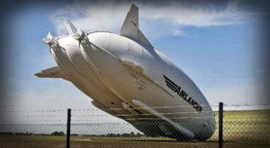 """Airlander 10 s-a prăbușit: a dat cu """"fundul"""" de pământ"""