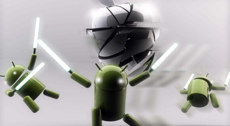 Popularitatea Android a crescut, în defavoarea iPhone-urilor