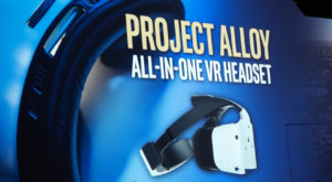 Project Alloy: Intel a creat un kit VR ce nu are nevoie de PC
