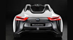Nissan BladeGlider este un vehicul electric cu aspect futurist