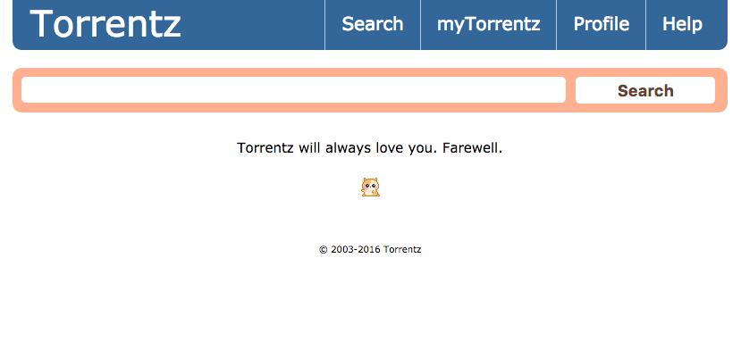Torrentz.eu, cel mai popular motor de căutare pentru torrente, a fost închis